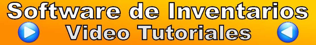 Software de Inventarios - Video Tutoriales
