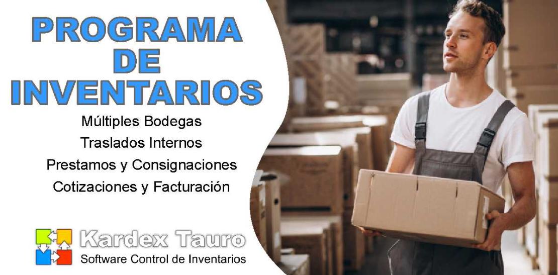 Software administración de inventarios
